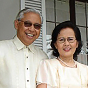 Philip C. Flores (wife Myrna)